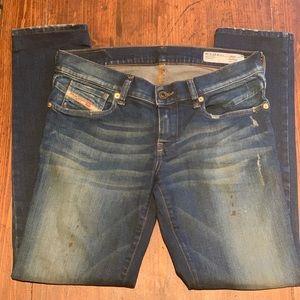 Diesel Getlegg Slim-Skinny Jeans